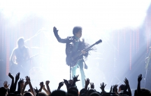 Prince performs during the Billboard Music Awards at the MGM Grand Garden Arena in Las Vegas, Nevada, U.S. May 19, 2013