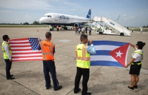 US flight to Cuba