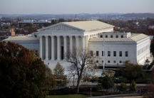 An ariel view of the Supreme Court Building