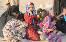 Sunnis displaced Saqlawiyah Iraq