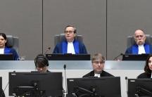 ICC judges in the Hague