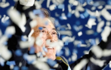 Moon Jae-In celebrates nomination