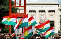 Kurdish flags