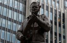 The new monument to Mikhail Kalashnikov in Moscow