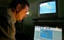 Veteran Cuban weather forecaster Jose Rubiera is now retired. But when a big storm hits, he returns to his broadcasts, to the relief of many Cubans.