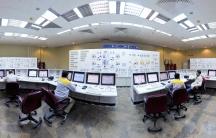 Nuclear power plant unit in Bushehr, Iran