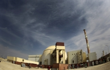 A general view of the Bushehr nuclear power plant, some 1,200 km (746 miles) south of Tehran.