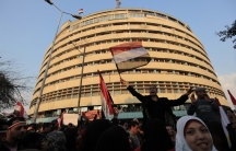 Egypt state TV