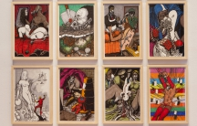 The work of Ramón Esono Ebalé at the University of South Florida Contemporary Art Museum.