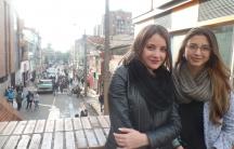 Anya Cardenas (l) Monica Lozano (right)