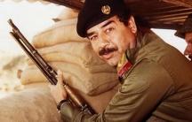 Saddam Hussein Iran-Iraq war 1980s.