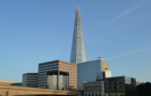 The Shard stands 95 stories tall in the heart of London on the banks of the River Thames.