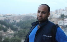 Baha Nababta in the Shuafat refugee camp in November 2014. He devoted his life to improving the camp before he was shot to death this year.