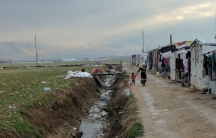 Over a million Syrians have fled their country and set up refugee camps in neighboring Lebanon.