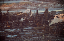 Tar sands oil processing facility