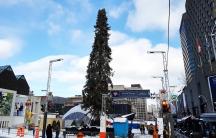 Montreal's ugly Christmas Tree.