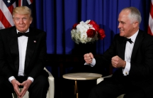 President Donald Trump and Prime Minister Malcolm Turnbull
