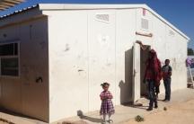 IDP camp near Tripoli