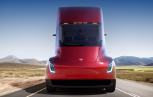 Tesla's new semi truck.