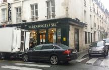 'Thanksgiving' a restaurant in Paris.