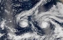 NASA hurricane satellite