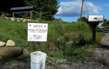 In Ohio, concerned citizens can bring water from their wells to a monthly water monitoring program.