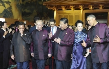 APEC leaders in matching T-shirts