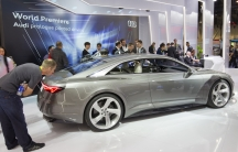 The Audi Prologue concept car