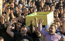 Funeral in Beirut