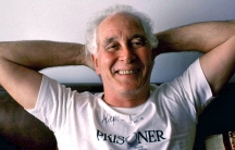 Great Train Robber Ronnie Biggs in Brazil in 1992 while a fugitive from Britain.