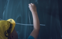 A student at the chalkboard