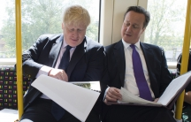 London Mayor Boris Johnson and Prime Minister David Cameron have been schoolmates, political colleagues, and are now rivals in a battle of Britain's future in Europe.