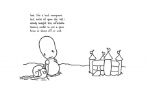 "An excerpt from Jomny Sun's book, ""everyone's a aliebn when ur a aliebn too."""