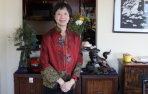Cheng Imm Tan at home in Boston.