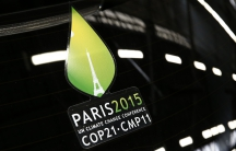 Paris climate change summit logo