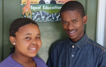 Somila and Bayanda are students at COSAT, a Cape Town high school