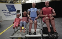 Crash test dummy family