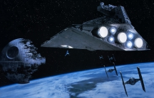 Now witness the firepower of this fully armed and operational space junk removal system. Just maybe not this exact one.