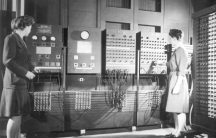 Jean Jennings Bartik (left) and Frances Bilas Spence (right)  were part of a team of six women who programmed the ENIAC.