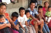 Migrant family Guatamala