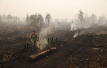 Indonesian fires create a haze throughout Southeast Asia