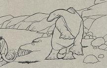 Gertie the Dinosaur cel