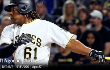 Pittsburgh Pirates' Gift Ngoepe became the first African-born player in MLB history.
