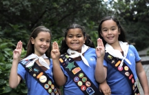 Members of the Girl Guides of Canada. Girl Guides of Canada via Flickr