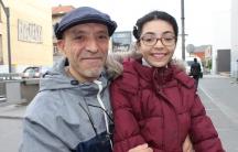 Habib, 57, and his daughter Rama, 12, live in the Molenbeek neighborhood of Brussels.