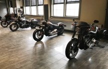 Harley-Davidson motorcycles on display at the company's headquarters in Milwaukee, Wisconsin. An EPA penalty of $15 million for selling emissions defeat devices was decreased by $3 million under the Trump administration in December 2017.
