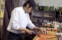 Chef Antonio Park, owner and head chef at Park Restaurant in Montreal