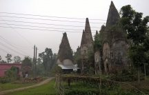 The Hindu temple at Pirojpur, where Sanjida and Puja attempted to marry.