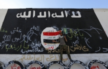 ISIS flag in Iraq