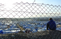 The view across the Kawar Gosk refugee camp for Syrian refugees in Northern Iraq.